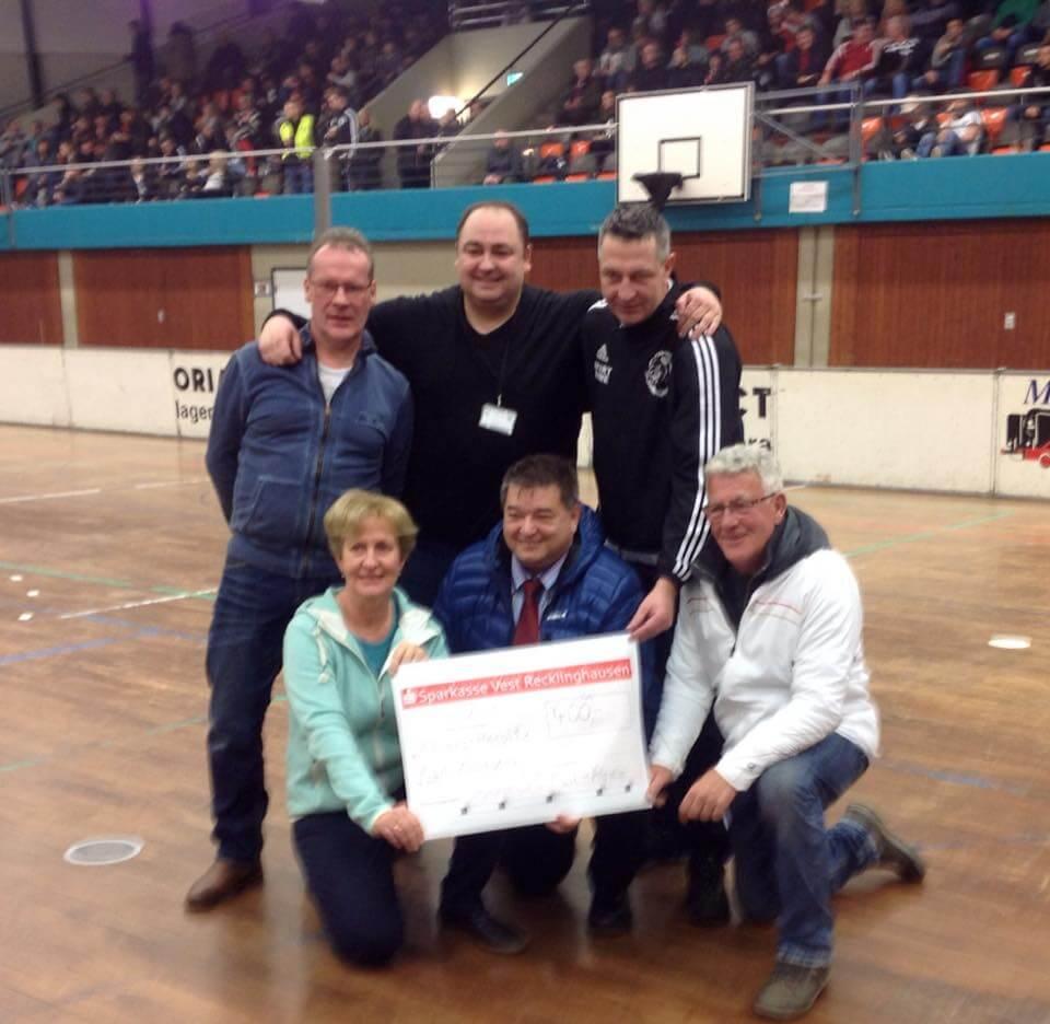 400 EUR Scheck - Bürgermeister Cup