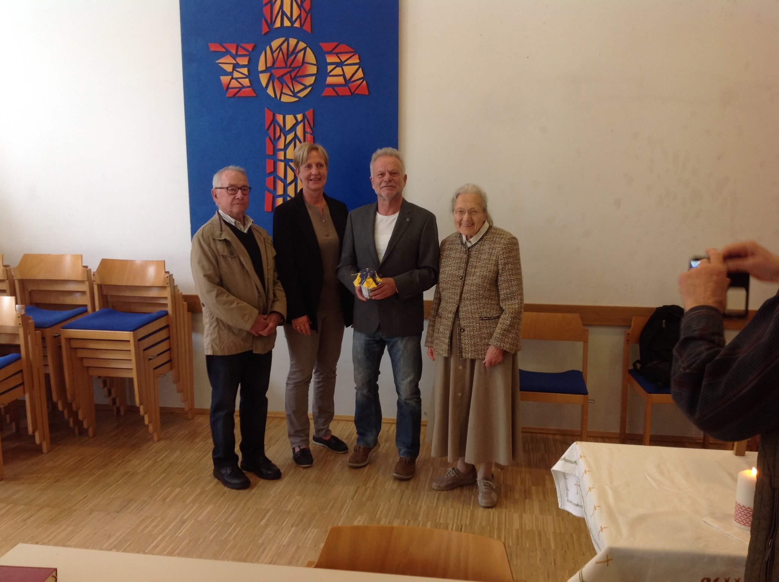 Spende des ökumenischen Gemeindetreffs