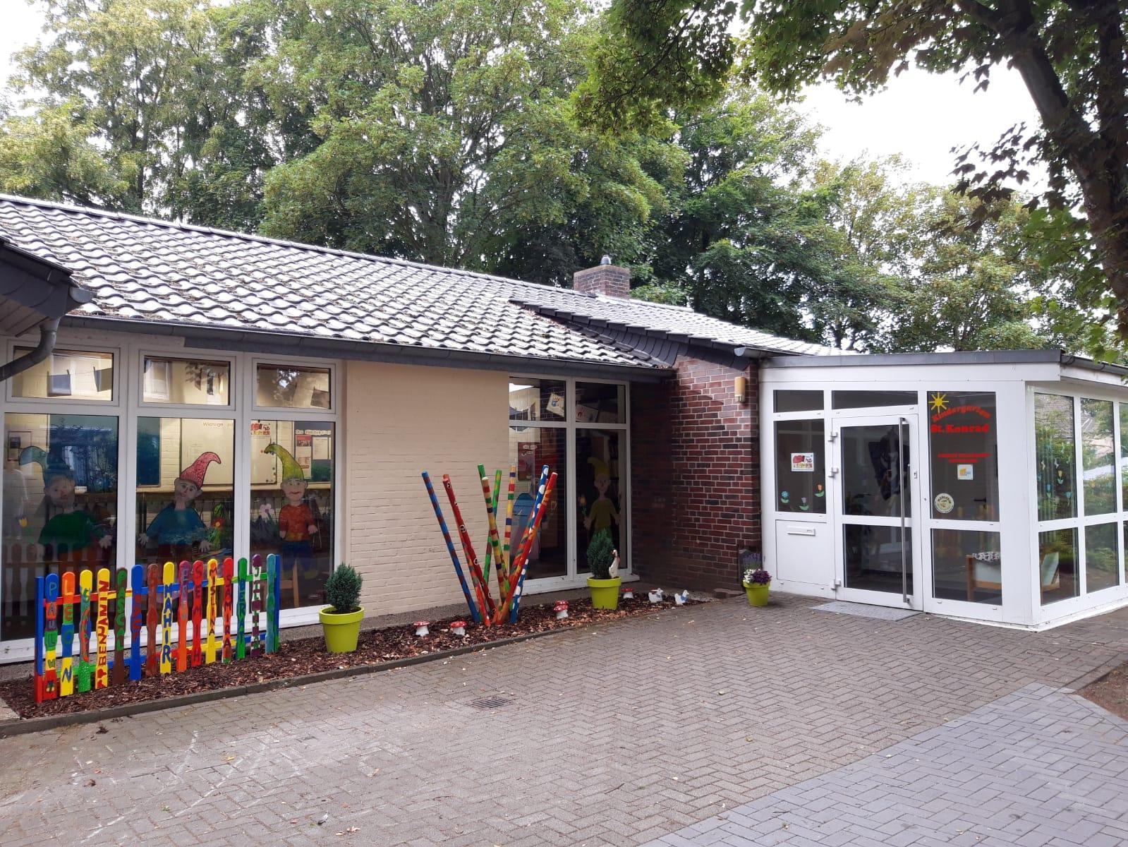 Kindergarten St. Konrad spendet