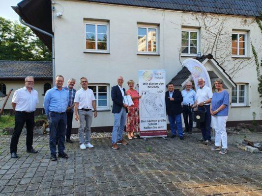 Baugenehmigung für Klara Hospiz erteilt!