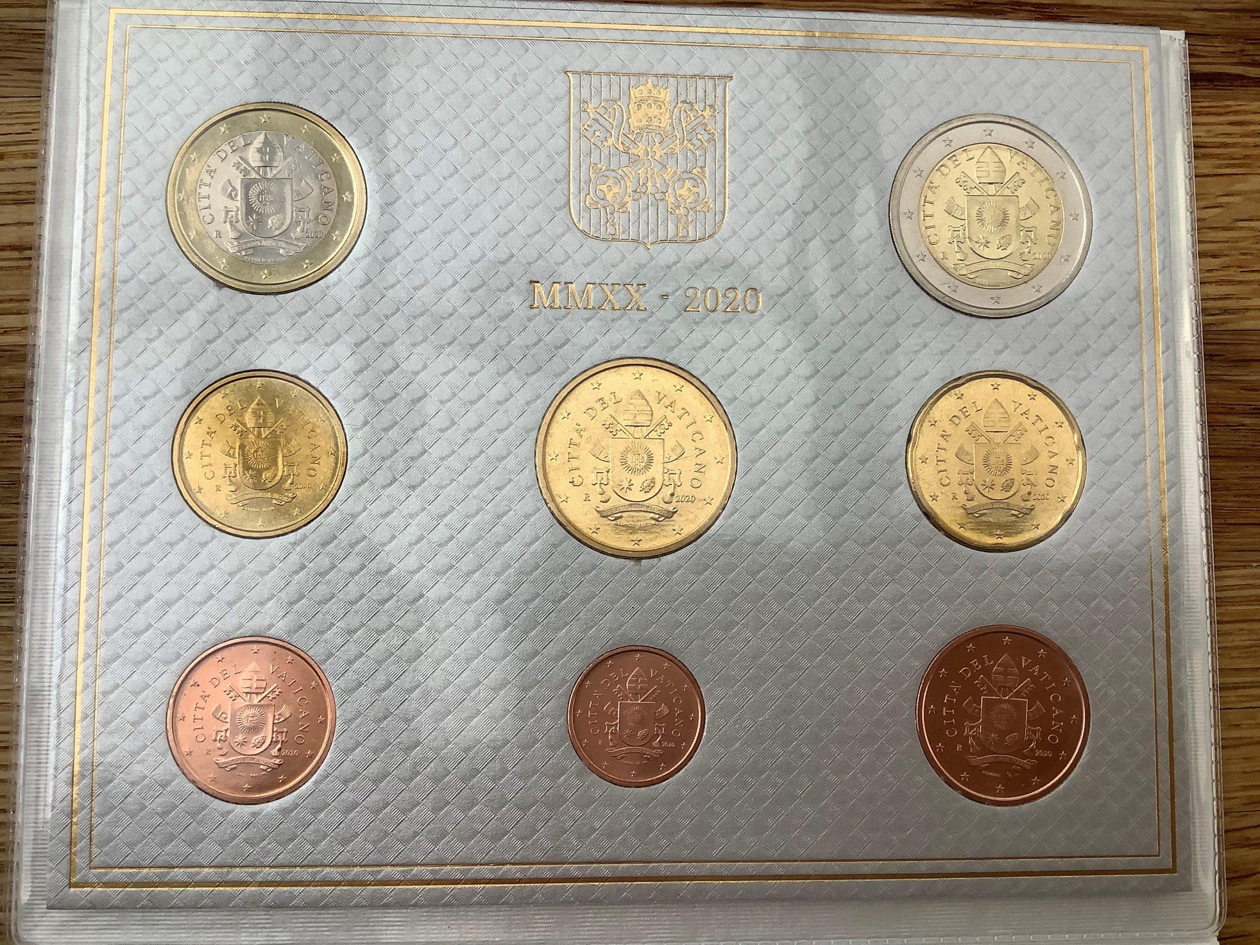 Seltene Vaticanmünzen