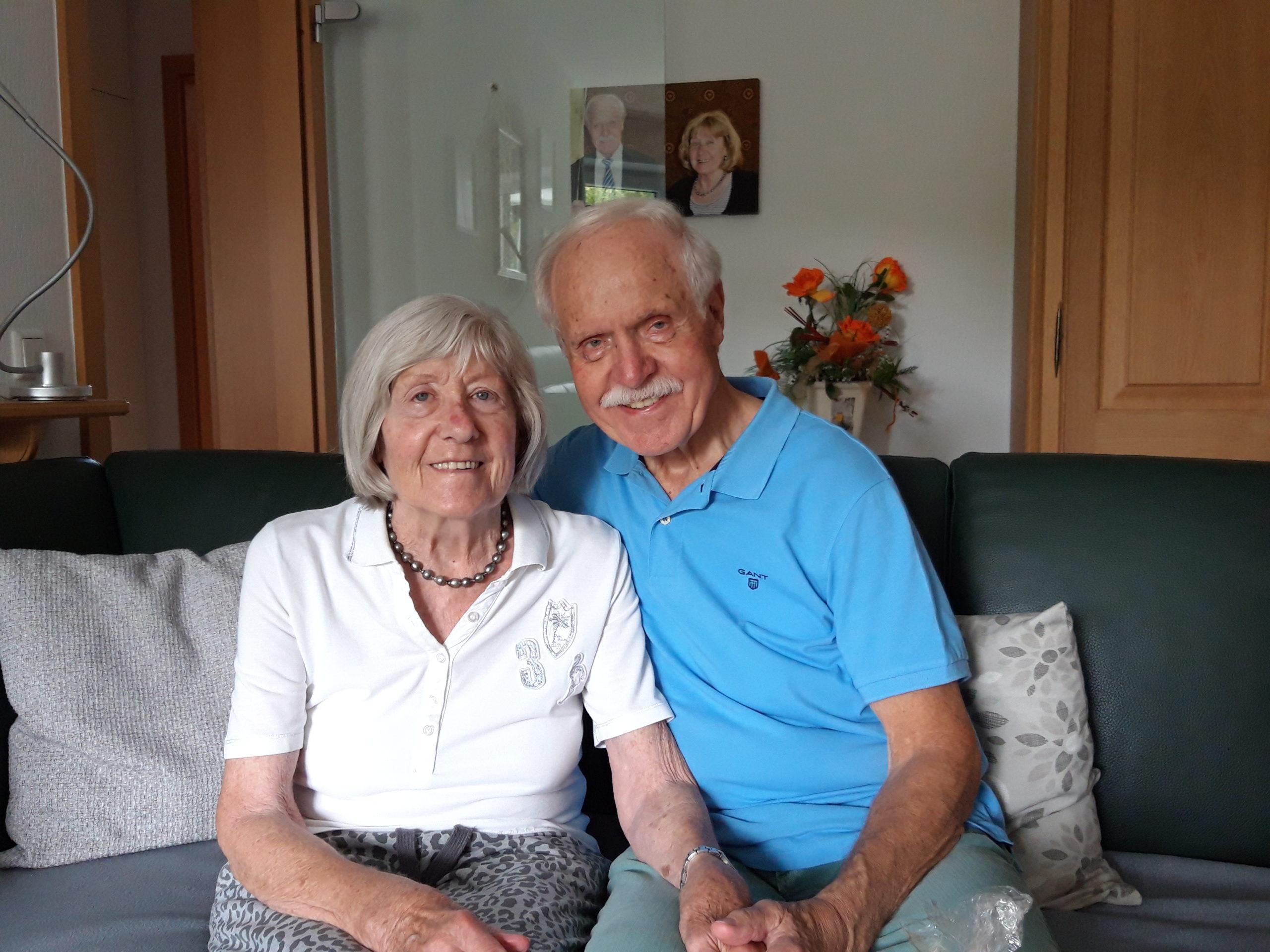 Goldene Hochzeit des Ehepaars Schäfer