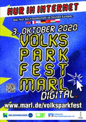 Digitales Volksparkfest am 3. Oktober