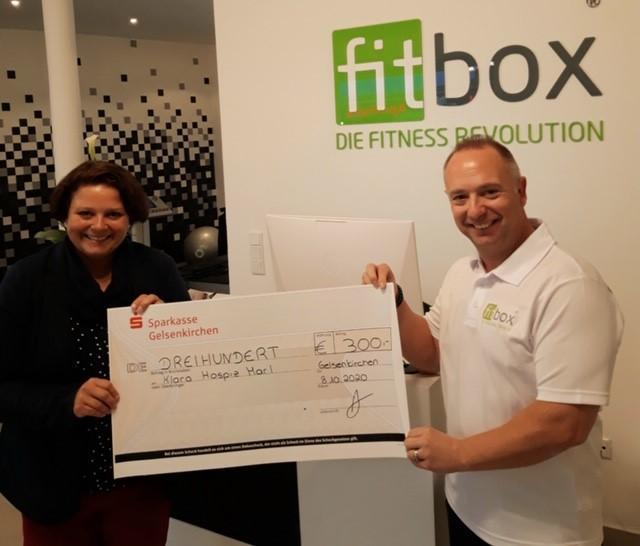 fitbox unterstützt das Klara Hospiz