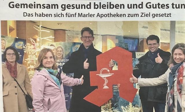 Marler Apotheken helfen dem Klara-Hospiz