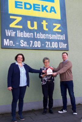 Edeka Zutz spendet an Klara